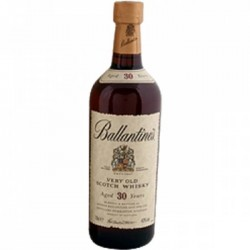 Whisky BALLANTINE'S Escocés 30 Años - George Ballantine and Son Ltd.-