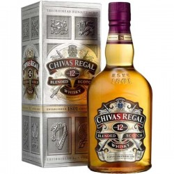 Whisky CHIVAS REGAL Escocés 12 Años