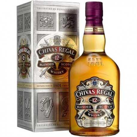 Whisky CHIVAS REGAL Escocés 12 Años