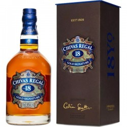 Whisky CHIVAS REGAL Escocés 18 Años