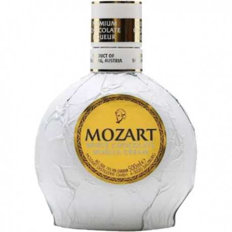 Licor de chocolate MOZART WHITE