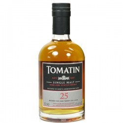 Whisky TOMATIN Single Malt 25 Años