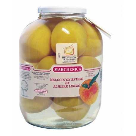 Melocotón 10-14 Frutos de Calanda D.O. en Almíbar - MARCHENICA -