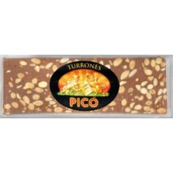 PICO 66 Turrón de Choco con Almendras 500 gr