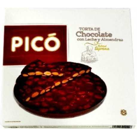PICÓ 66 Torta Turrón  de Chocolate con Almendras  Suprema 200 g.