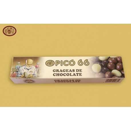 PICÓ 66 Grageas de Chocolate 100 g.