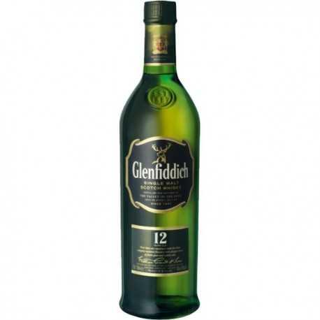 Whisky Escocés de Malta GLENFIDDICH 12 Años