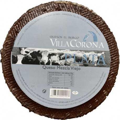Queso Villa Corona Plata Mezcla Viejo 3kg