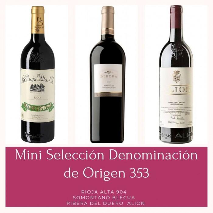 Mini Selección Denominaciones de Origen 353