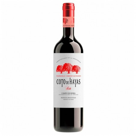 Vino Coto de Hayas Tempranillo Cabernet  - Bodegas Aragonesas