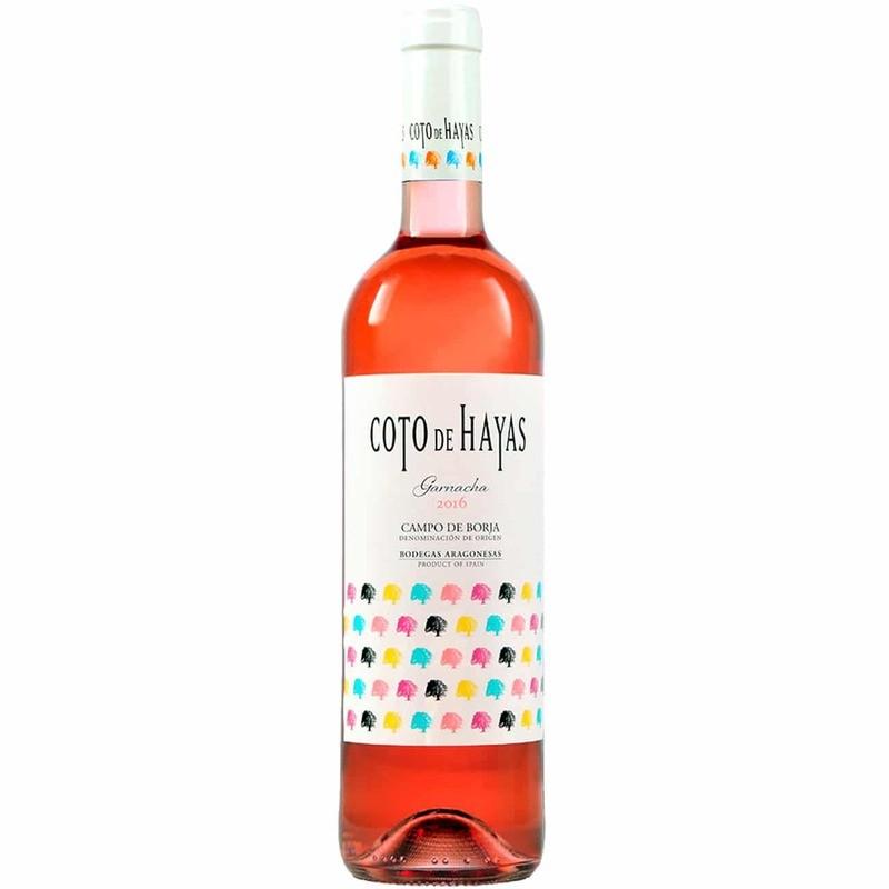 Vino COTO DE HAYAS Rosado  - Bodegas Aragonesas