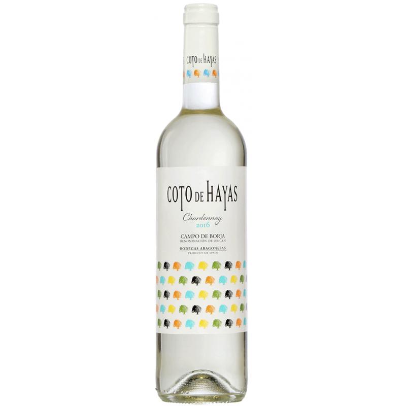 Vino COTO DE HAYAS Blanco Chardonnay - Bodegas Aragonesas