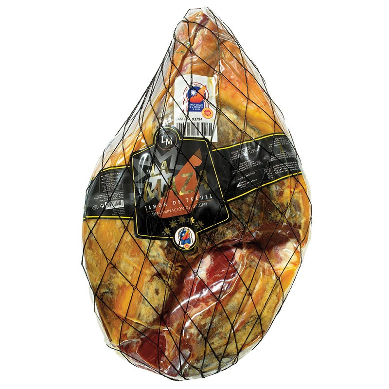 Jamón D.O. de Teruel Redondo y Deshueso LA MAZA - SOINCAR (5,5 kgs)