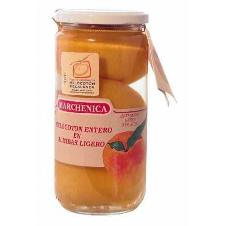 Melocotón 3 Frutos de Calanda D.O.  en Almíbar - Marchenica