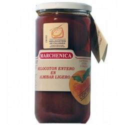 Melocotón 3 Frutos de Calanda D.O. en Almíbar  Con Vino - Marchenica -